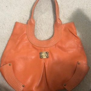 Orange Jimmy Choo bag